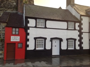 Conwy-Smallest house in Britain